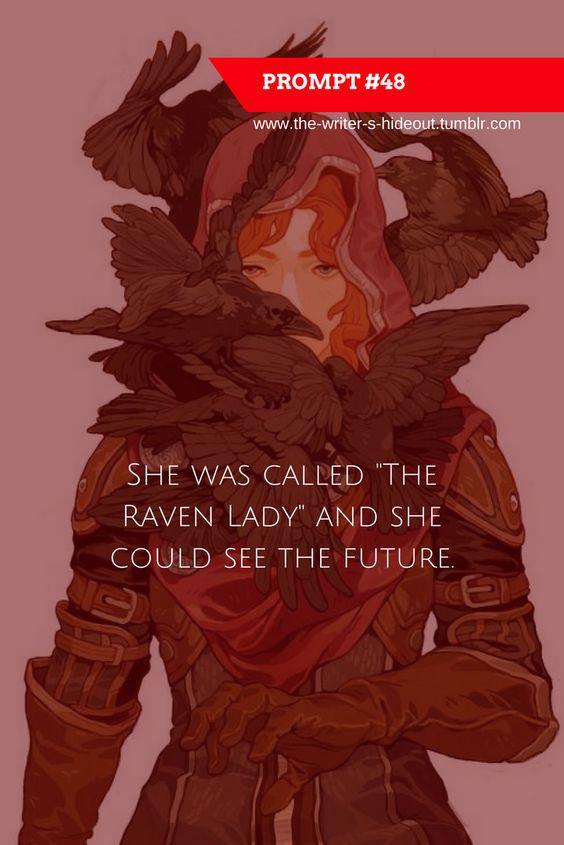 raven lady prompt